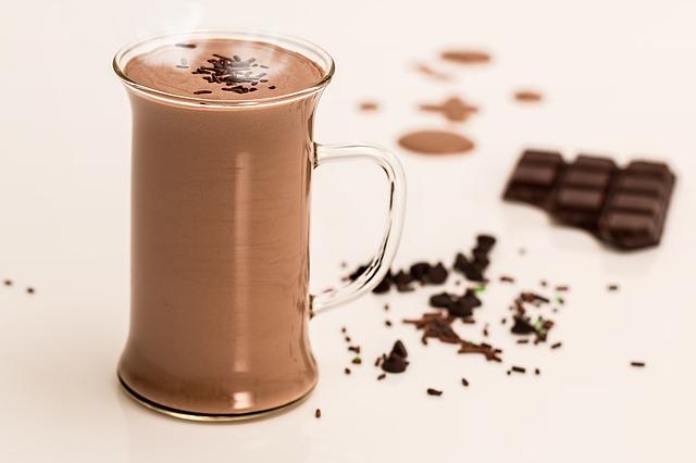 horká čokoláda drink