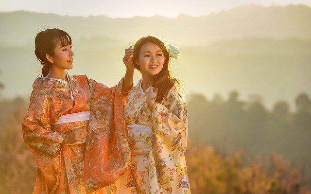 Asie, gejša, tradice